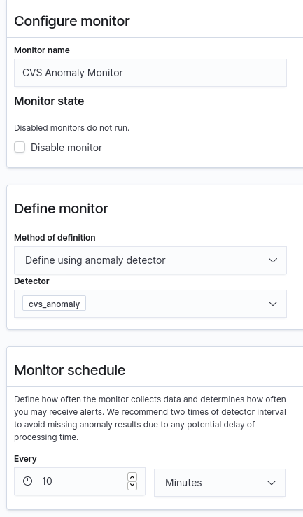 Alerts using Anomaly Detector