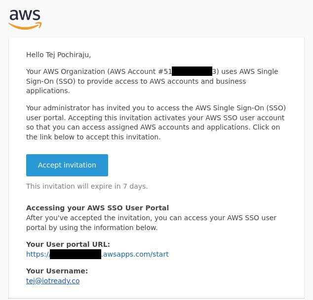 AWS Grafana SSO Email
